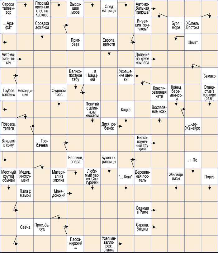 Схема вышивка крестиком матрешка 39